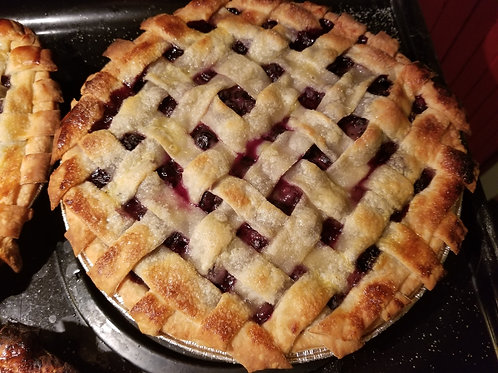Organic Blueberry Pie - whole - PREORDER FOR THANKSGIVING