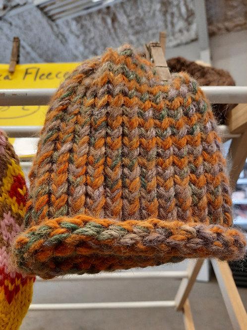 Soft Infant-Sized Alpaca Wool Hat