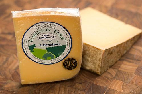 A Barndance Organic Raw Farmstead Cheese - 1/2lb