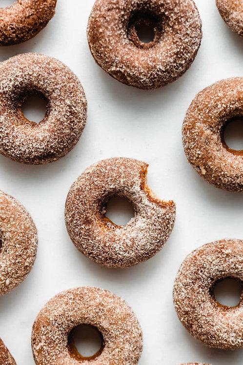 Organic Cider Donuts - half or full dozen