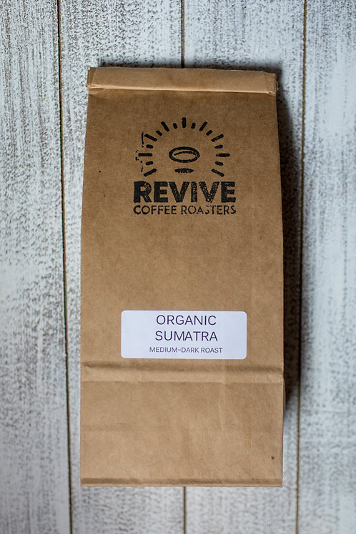 Locally Roasted Organic Coffee - Sumatra Mandehling