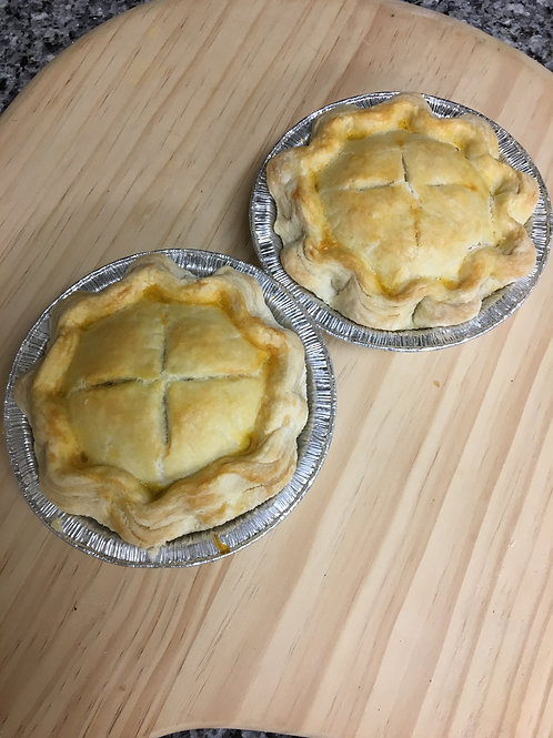 Individual Size Fresh Baked Meat Pies (choose variety) - 2-pack