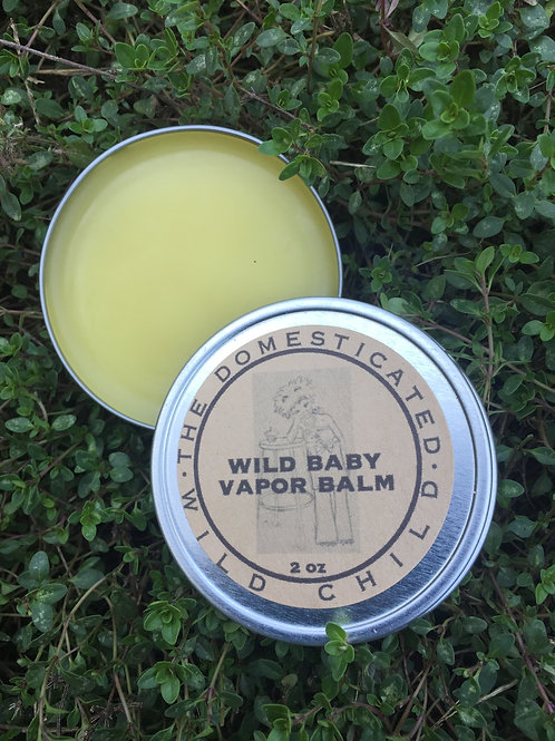 Organic Herbal Vapor Balm - 2 oz