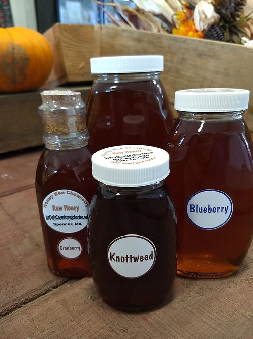 Flavored Local Honey - choose size and variety