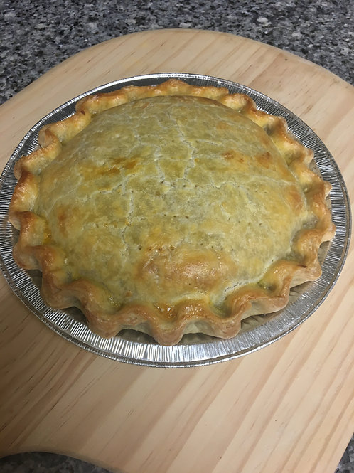 Steak & Ale Pie - 1 family size (9 inch)