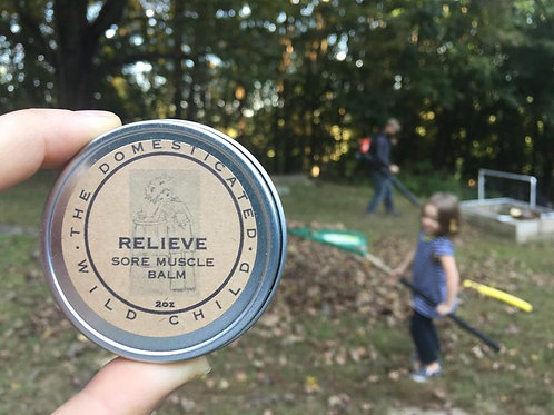 Relieve Sore Muscle & Tension Relief Balm - 2 oz