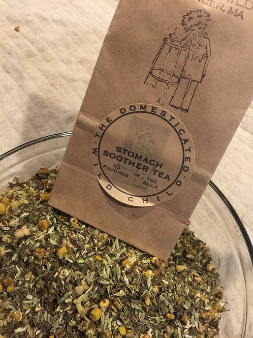 Stomach Soother Organic Herbal Tea - 1 oz