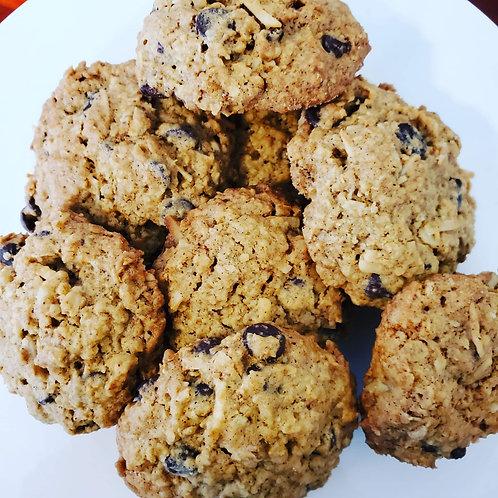Cranberry White Chocolate Oatmeal Cookies - 1 dozen
