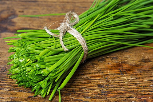 Chives - traditional or garlic - one bunch