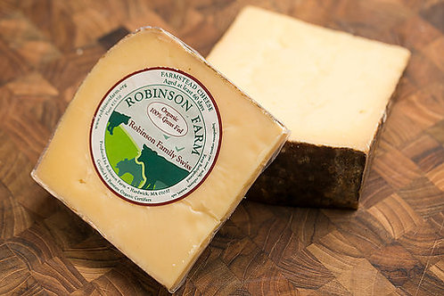 Robinson Family Swiss Organic Raw Farmstead Cheese - 1/2lb