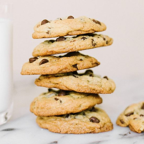 Gluten Free Chocolate Chip Cookies - 1 dozen