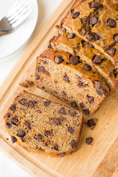 Chocolate Chip Banana Bread - 1 loaf