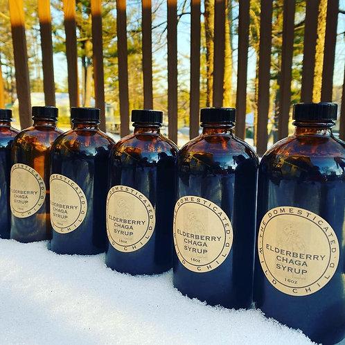 Organic Elderberry Syrup - 16 or 32 oz