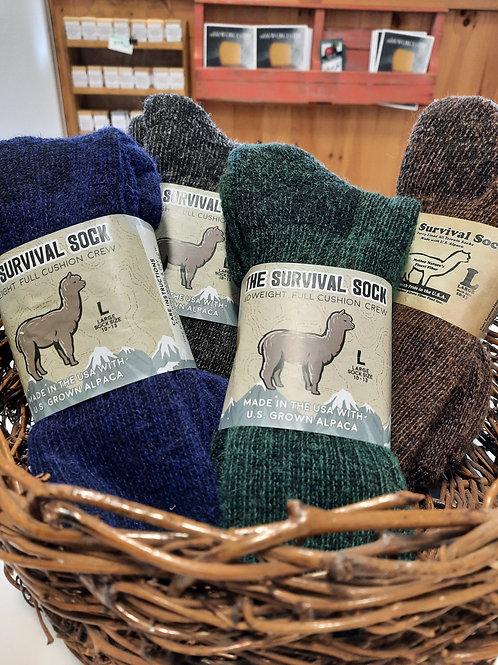 Alpaca Wool Socks - choose size and color