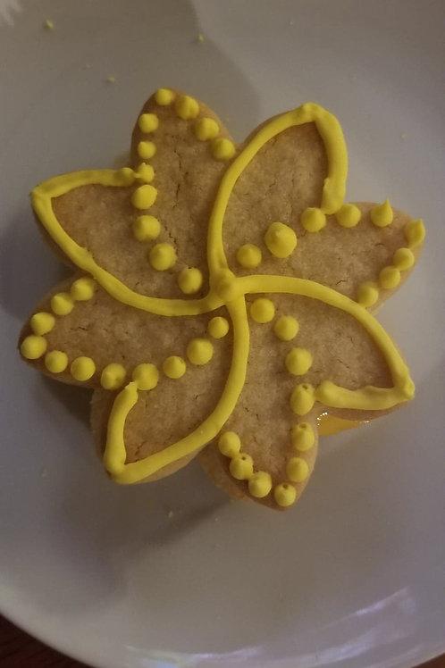 Organic Sugar Cookies - 1 dozen