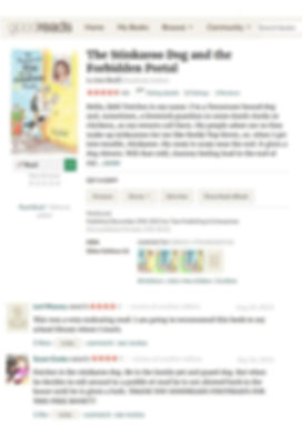 photo of Goodreads page for Stinkaroo Do