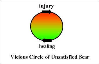 Vicius Circle of Unsatisfied Scar