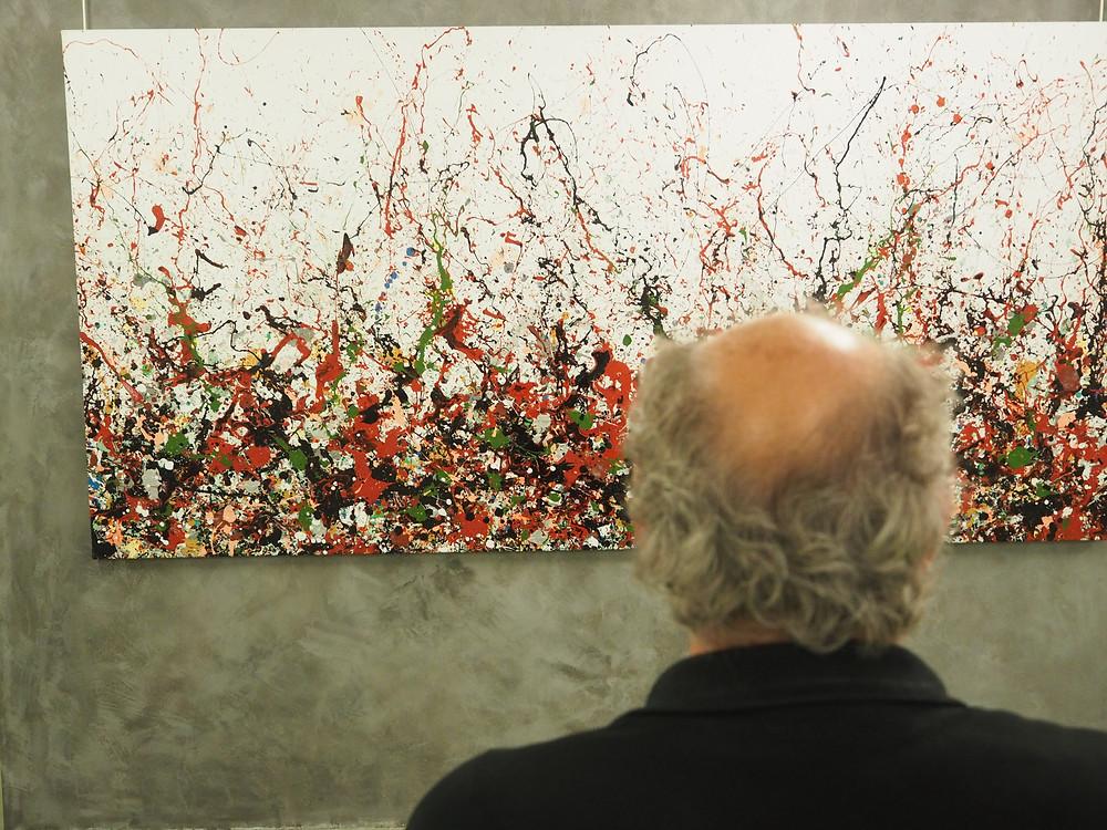 Action Painting by Denis de Gloire