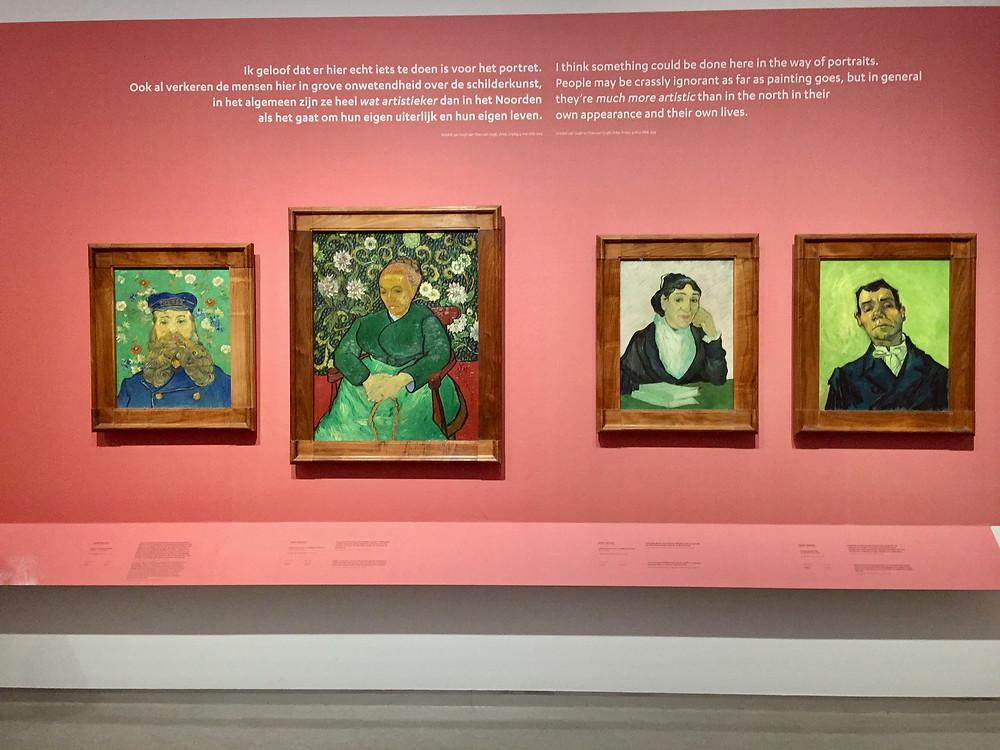 Van Gogh portraits at the Kröller-Müller Museum