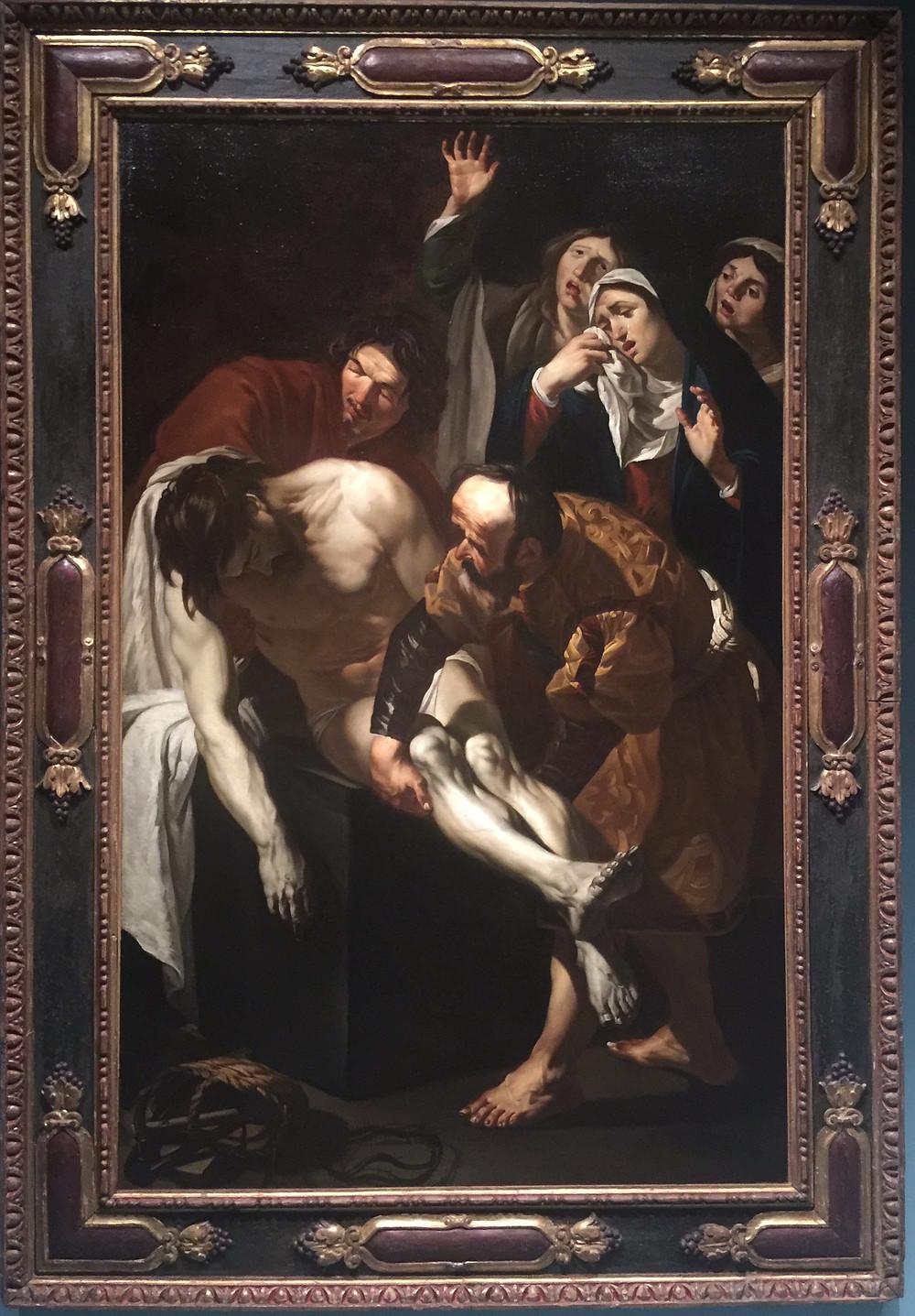 Dirck van Baburen De graflegging van Christus Centraal Museum Utrecht