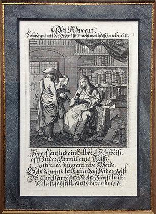 Johannes (1649-1712) en Caspar Luyken (1672-1708)