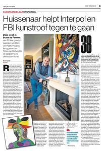 Artikel De Gelderlander | Kunsthandelaar Peter van Os