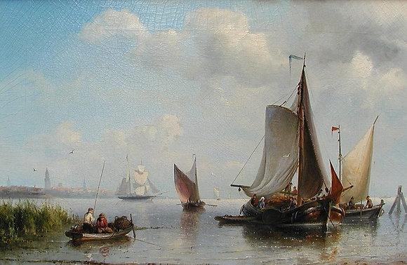 Nicolaas Riegen (1827-Amsterdam-1889)