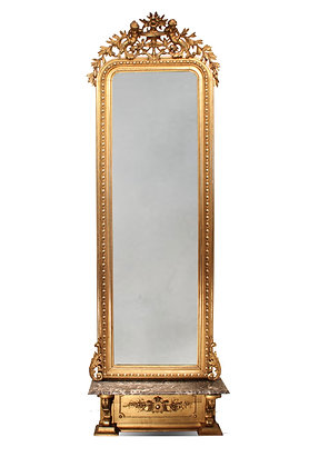 Large Console Mirror