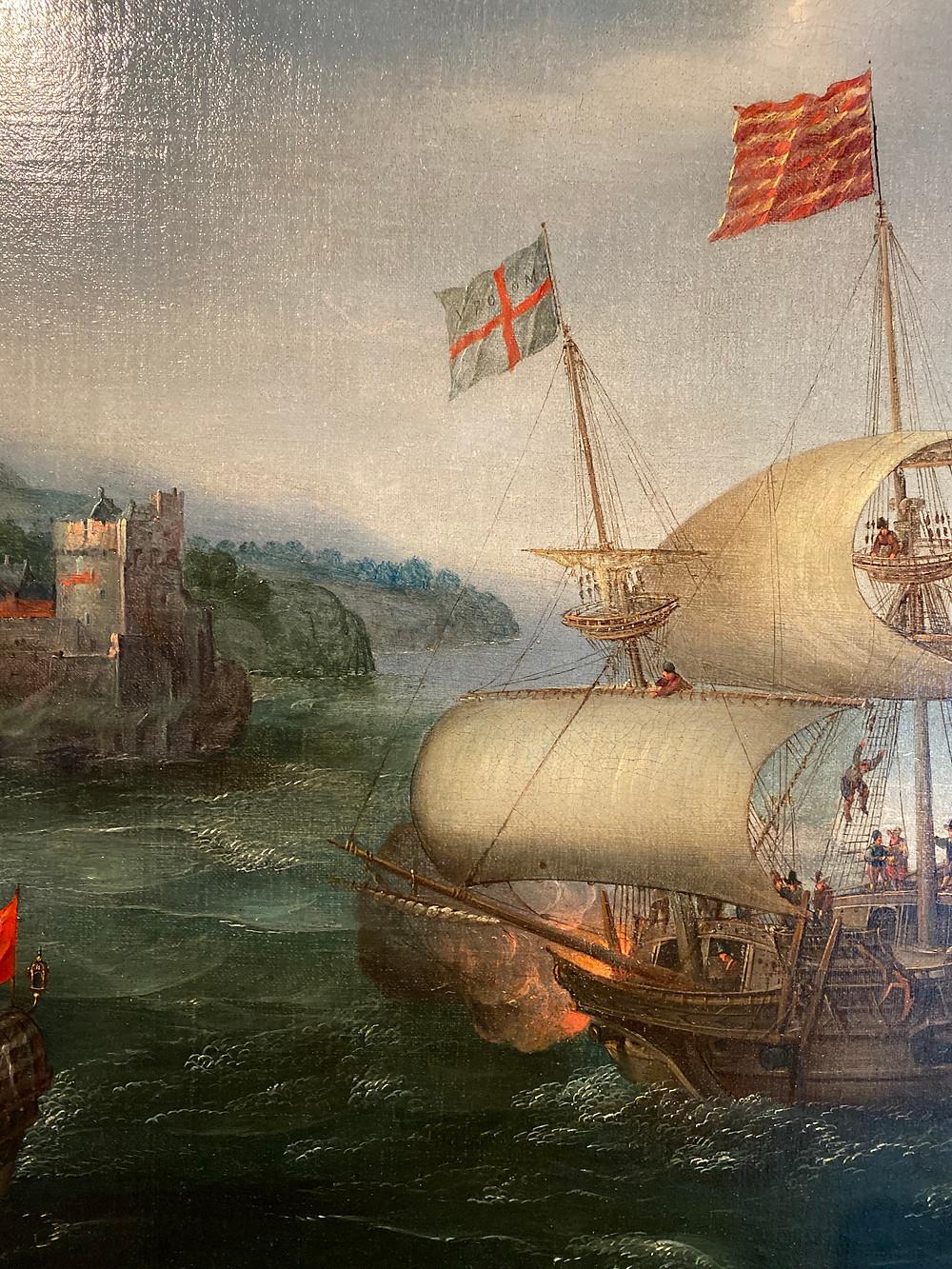 Maritiem schilderij Dover