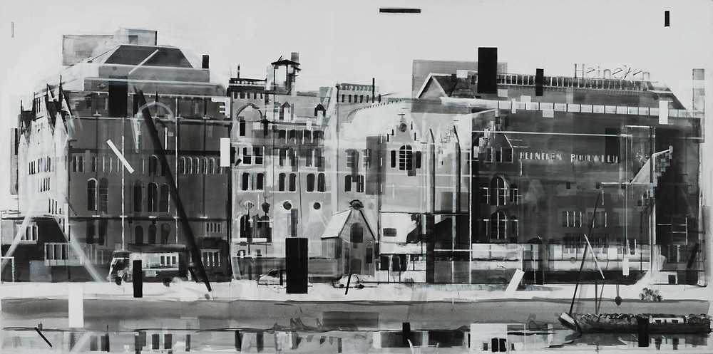 Heineken Buildings Amsterdam