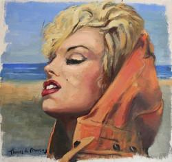 Marilyn. Mar de fondo.