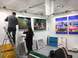 Affordable Art Fair Milan... Day 1