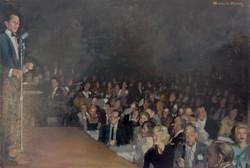 Sinatra in concert.