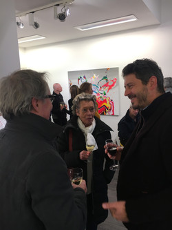 Opening, solo show, MM Gallery