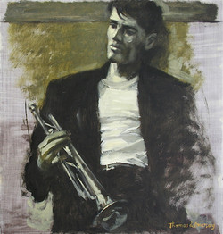 Young Chet (SOLD)
