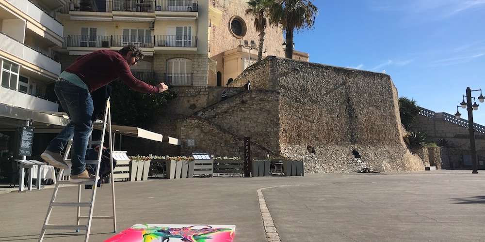 Photographing, Sitges