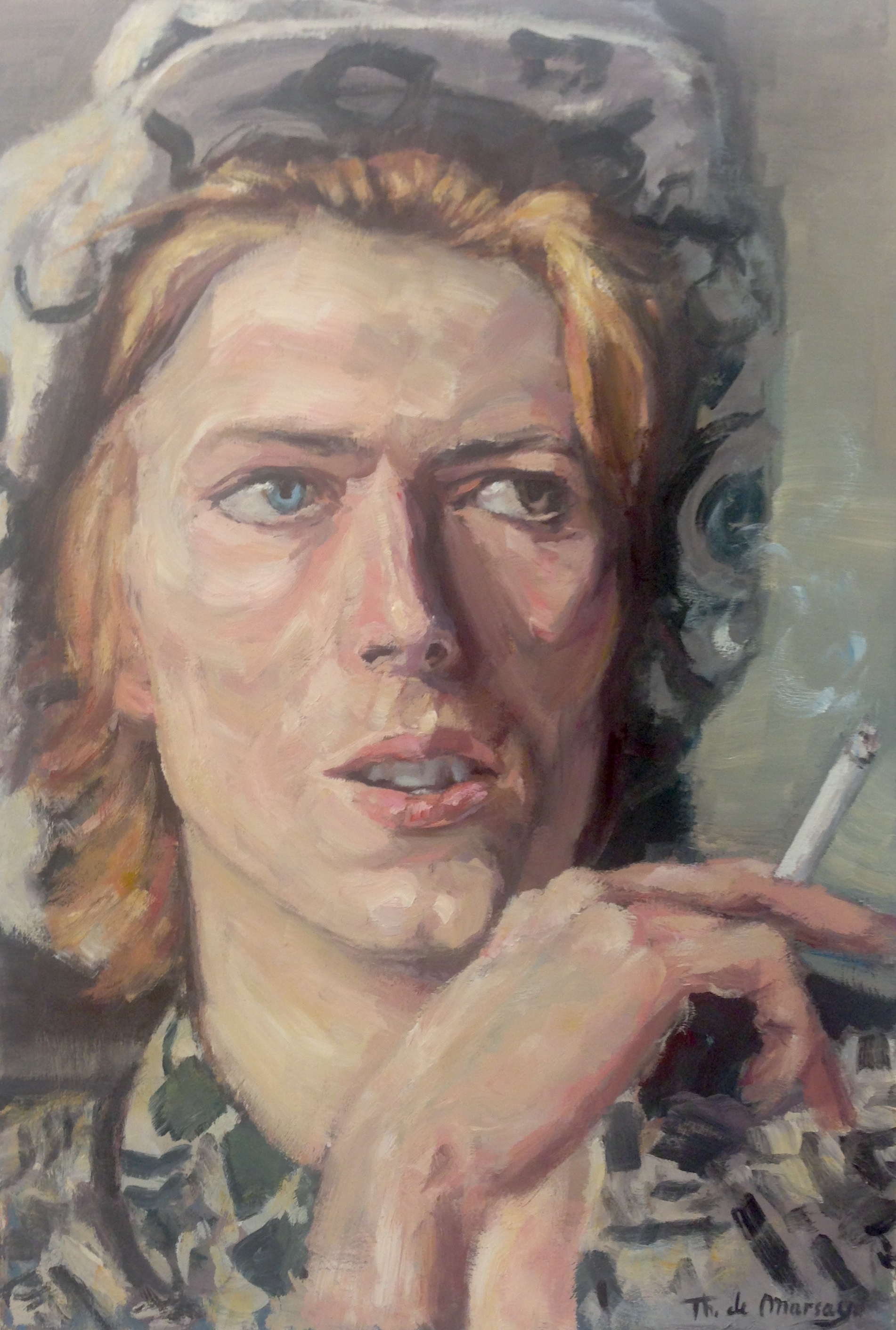 Bowie smoking 2.