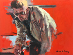Red. James Dean 1. (SOLD)