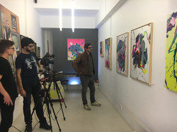 Filming, i le gallery, Sitges