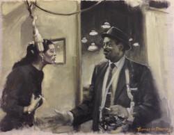 Billie Holiday and Ben Webster.