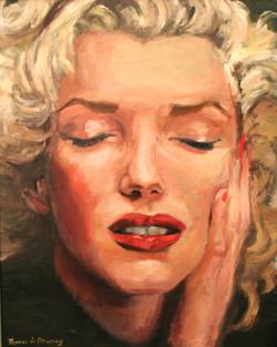 Sad Marilyn.