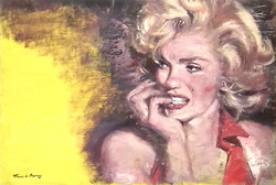 Yellow. Marilyn 3