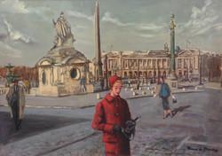 Place de la Concorde, París.