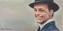 Sinatra smile 2. (SOLD)