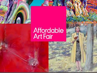 1 week until the Affordable Art Fair, Milan