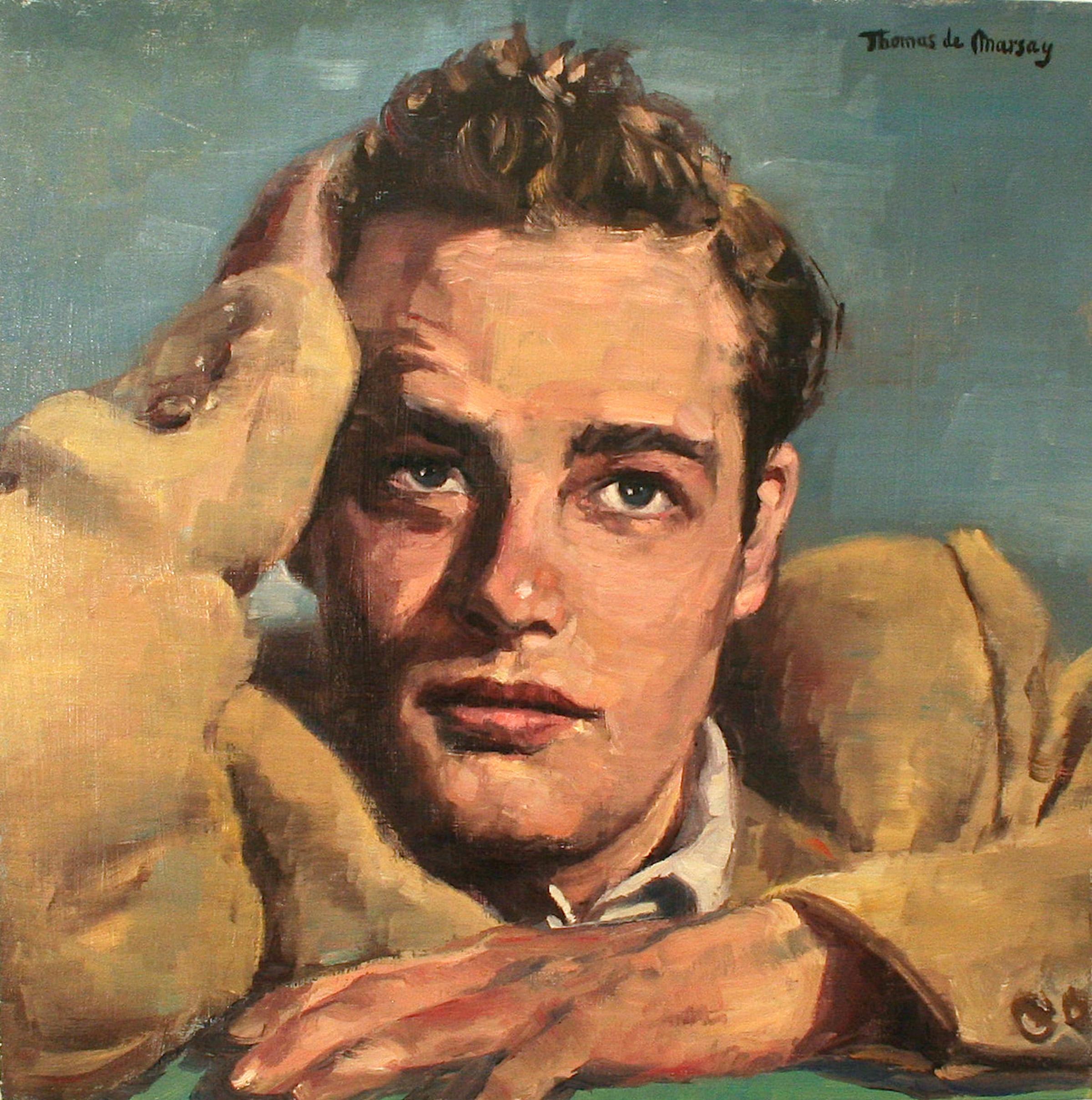 Dreaming. Marlon Brando.