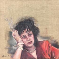 Dreaming. Anna Magnani.