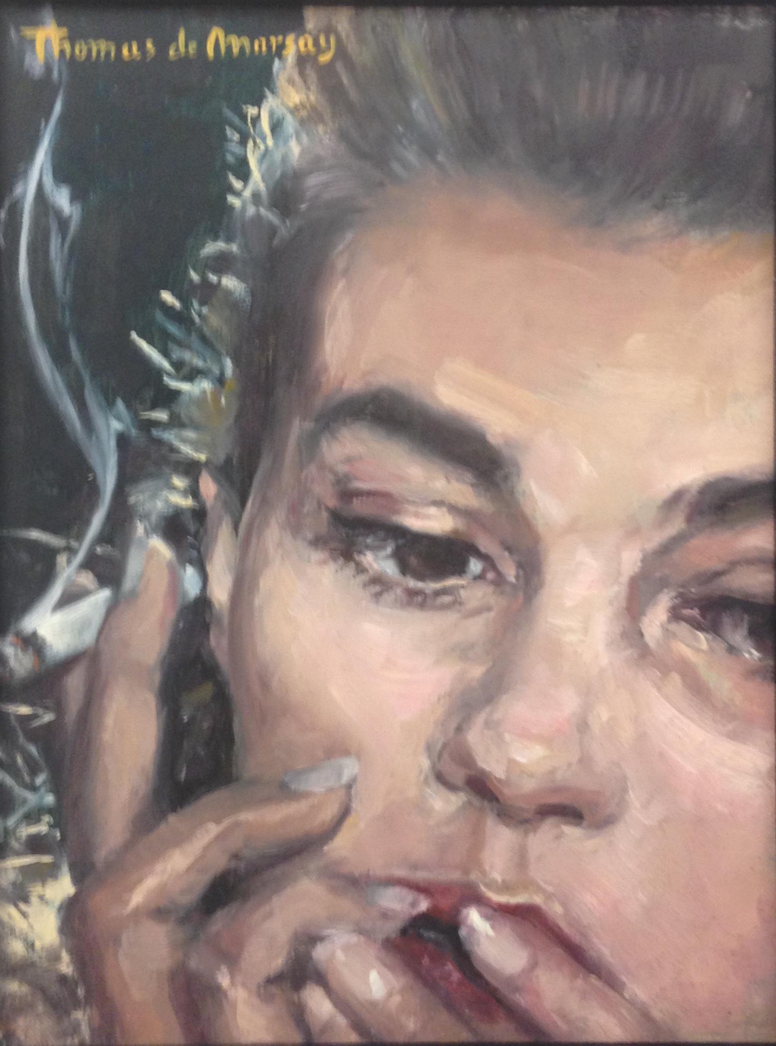 Jeanne Moreau. (SOLD)