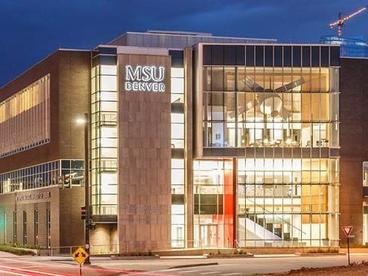 Metro State University of Denver Aerospace Engineering Services Building