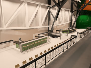 Colorado State University Moby Arena Rails